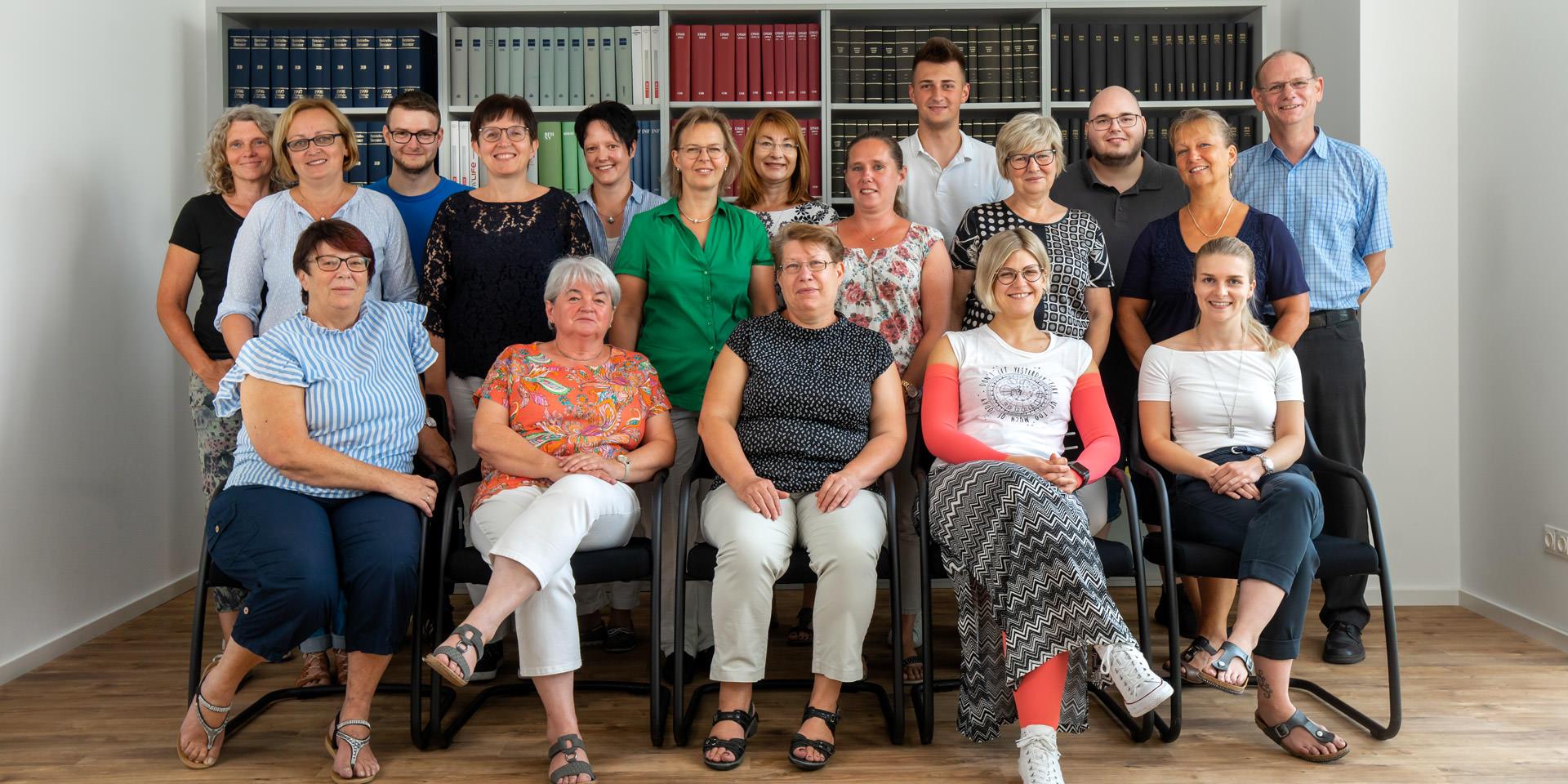 Team der Steuerkanzlei Lindner & Nowak